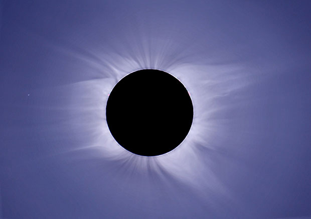 There is a total solar eclipse in March 2015 close to the UK. Image: Francisco Diego/UCL/Explore Worldwide.