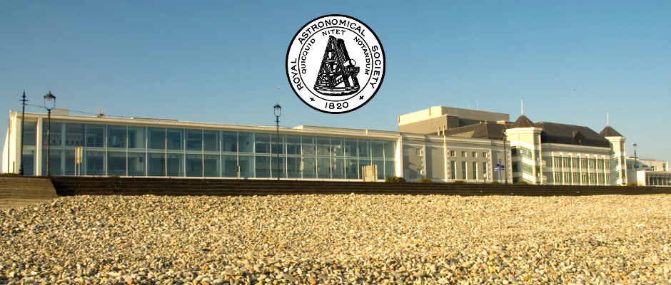 The Venue Cymru conference centre on Llandudno seafront, home of the Royal Astronomical Society's National Astronomy Meeting 2015. Image credit: Venue Cymru