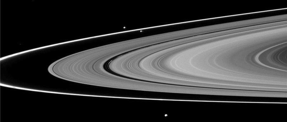 Origin Of Saturn S F Ring And Its Shepherd Moons Revealed