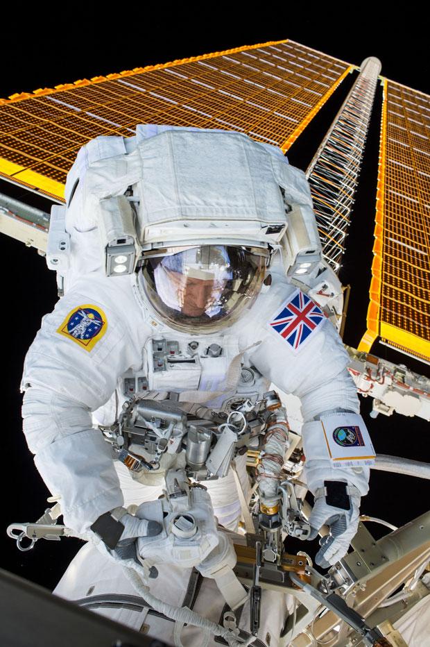 Tim Peake S Principia Spacewalk Astronomy Now