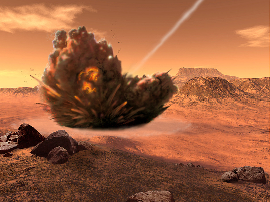 a study of the planet mars Mars is one of the most intriguing planets in the solar system mars is the second  smallest planet after mercury, and is famously known as the ''red planet'' due.