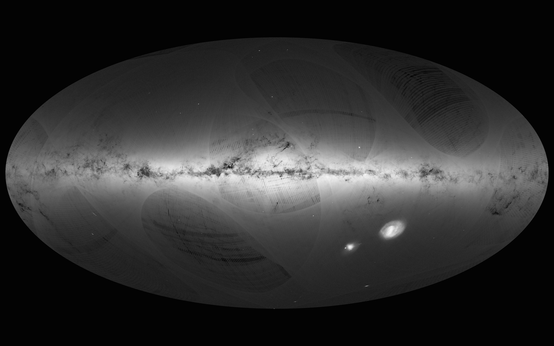 a billion stars gaia s first map of the milky way astronomy now